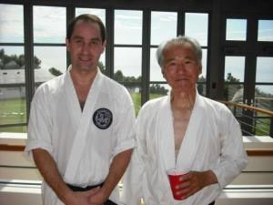 Sensei and me